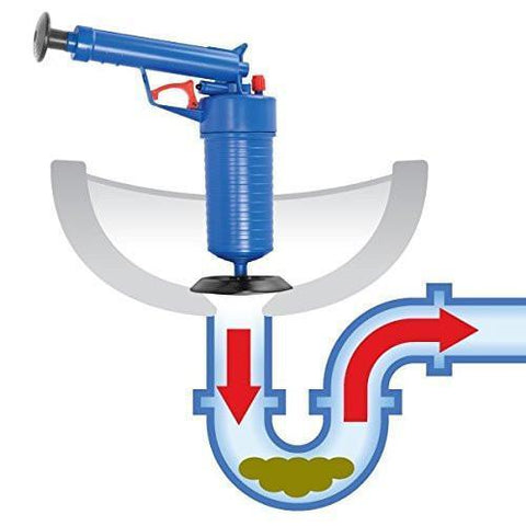 Drain Blaster - Unclog Any Clogged Drain Instantly