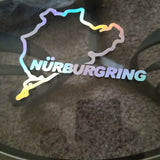 Nurburing holographic vinyl sticker/ decal