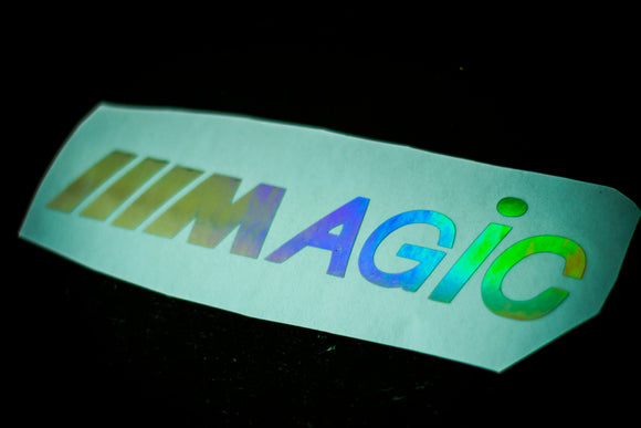 Magic M euro drift jdm sticker decal