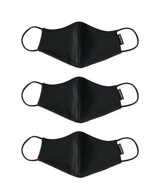 HERCULES FACE MASK - 3 PACK BLACK