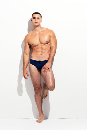 CLASSIC CUT SWIM BRIEF NAVY