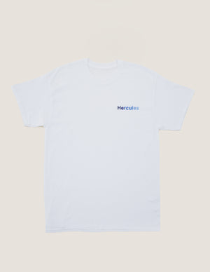 Hercules Logo Tee Blues Embroidery