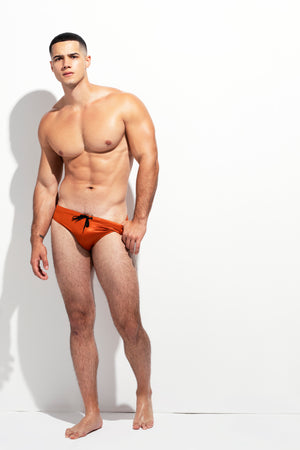 "CLASSIC CUT SWIM BRIEF ""LIMITED EDITION :METALLIC COPPER"""