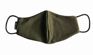 HERCULES FACE MASK -  MILITARY GREEN SHINE