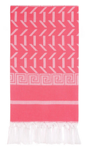 HERCULES GREEK TURKISH TOWEL PINK