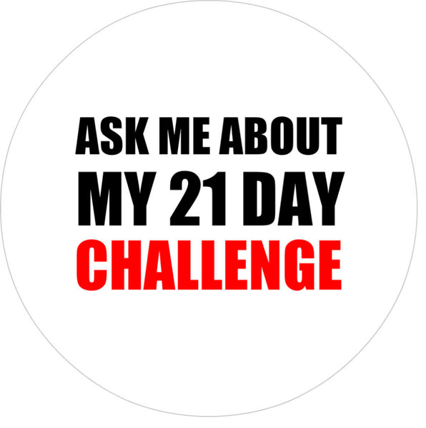 Badge - 21 Day Challenge