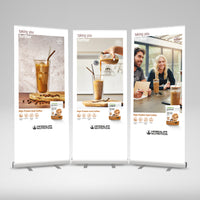 Protein Coffee Roller Banner