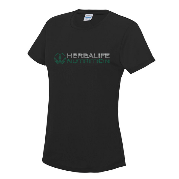 Herbalife Ladies Diamante T-Shirt