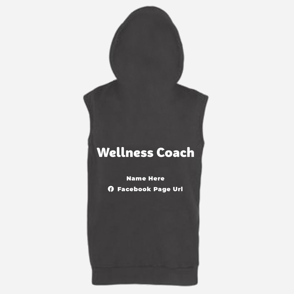 Sleeveless Zoodie (Nutrition club - Personalised)