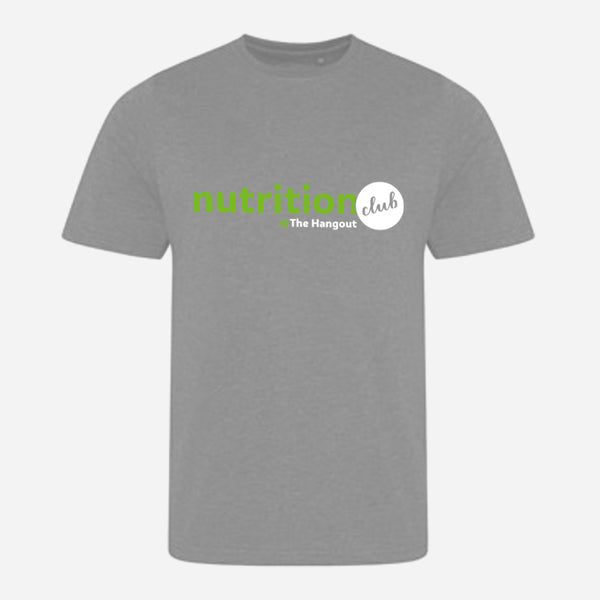 Triblend T - Heather Grey, Heather Royal (Nutrition club - Personalised)