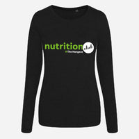 Girlie Triblend T Long Sleeve - Black, White, Heather Grey (Nutrition club)