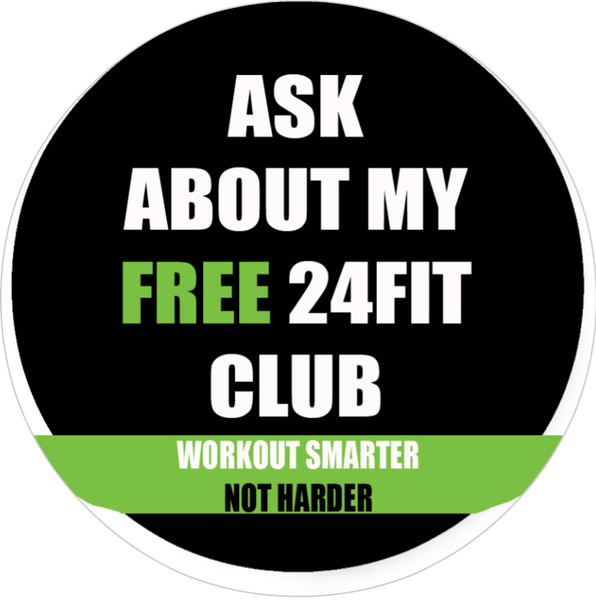 Badge - 24FIT Club