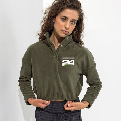 Women's Cropped Fleece