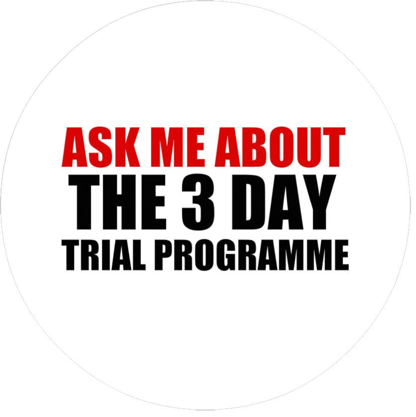 Badge - 3 Day Trial Programme