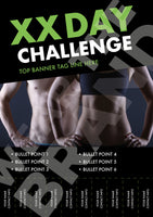 A4 - 'Fit Couple' Challenge Poster