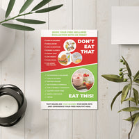 Nutrition Club Flyers - A6 or A5