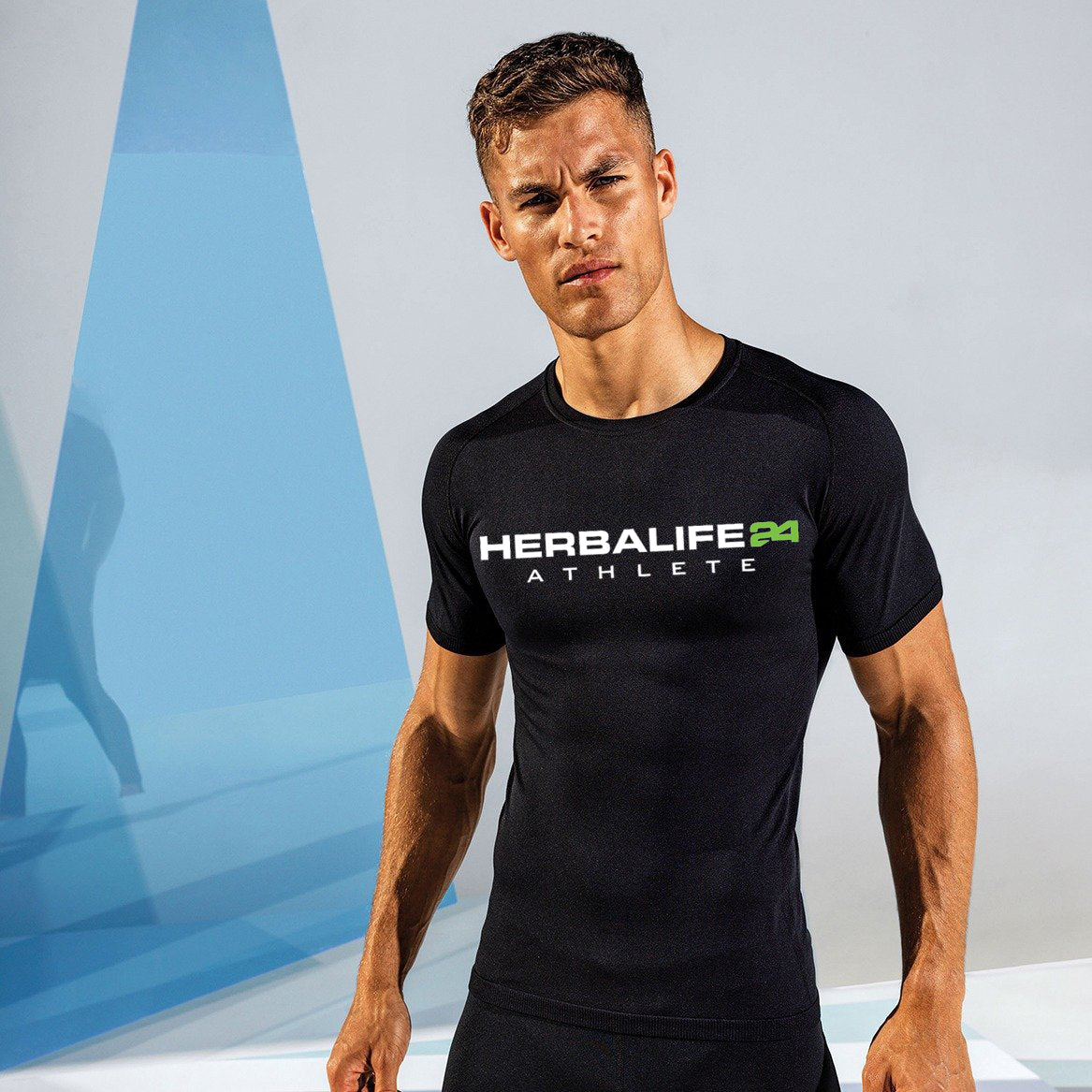 H24 Athlete: TriDri® Seamless '3D Fit' Multi-Sport Performance Short Sleeve Top (Printed Both Sides)