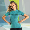H24 Athlete: Women's TriDri® Seamless '3D Fit' Multi-Sport Performance Short Sleeve Top (Printed Both SIdes)