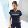 H24 Athlete: Women's TriDri® Contrast Panel Performance T-Shirt (Printed Front Only)