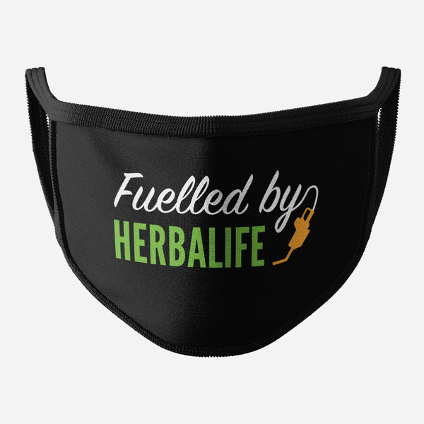 Black Face Mask (Fuelled By Herbalife)
