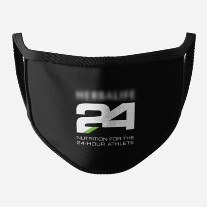 Black Logo Face Mask