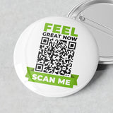 Scan Me Badge (Feel Great Now)