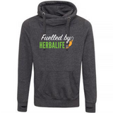 Cross Neck Unisex Hoodie - Fuelled By Herbalife