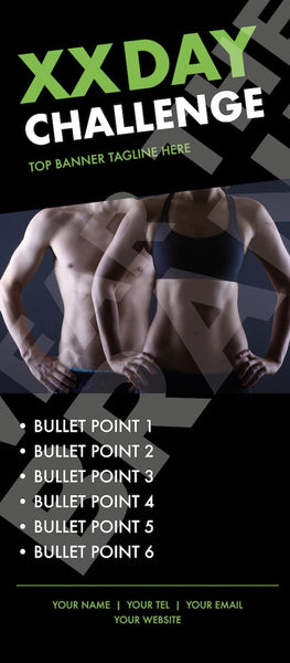 'Fit Couple' Challenge Roller Banner