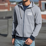 Zoodie - Unisex Zipped Hoodie (Eco Friendly)