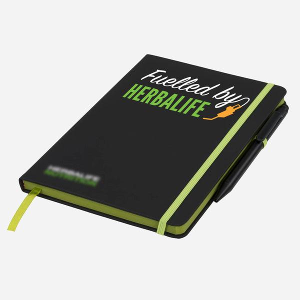 Branded Note Pad with Pen (Fuelled By Herbalife)
