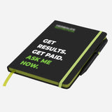 Branded Note Pad with Pen (Ask Me How Messaging)