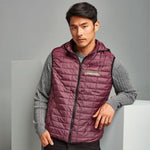 Men's Honeycomb Hooded Gilet