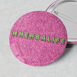 NEW Sparkly Badges (#Herbalife)