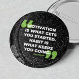Sparkly Badges (Jim Rohn Quotes)