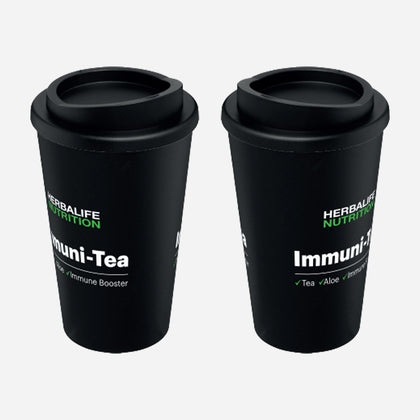 Americano® 350 ml insulated tumbler - Immuni-Tea Logo