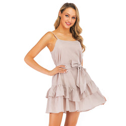 Play tie Pink mini Dress