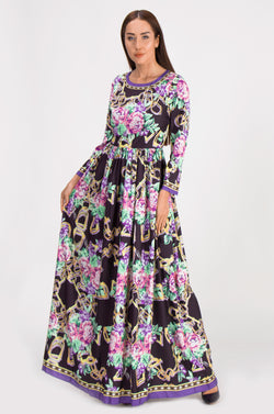 Multicolor Print & Patterns Dress
