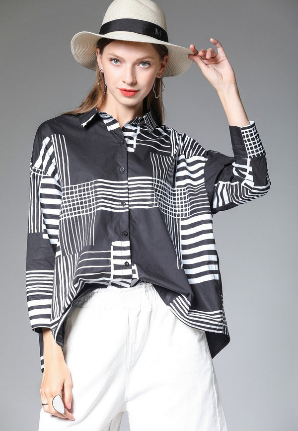 Lines Base Black Shirt