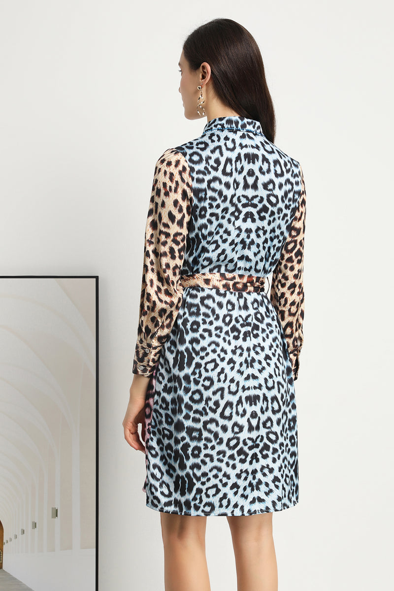 Leopard print Dress in multicolor