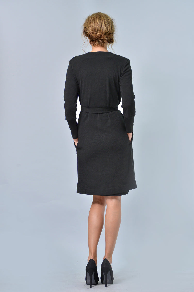 Black Suit Bundle (Dress & Cardigan)