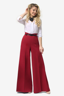 Tap Down Rust Trousers