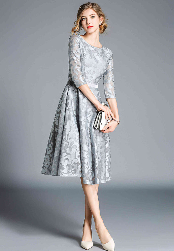 Base Gray Designs Dress