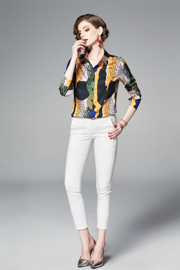 Multicolor & Patterns Shirt
