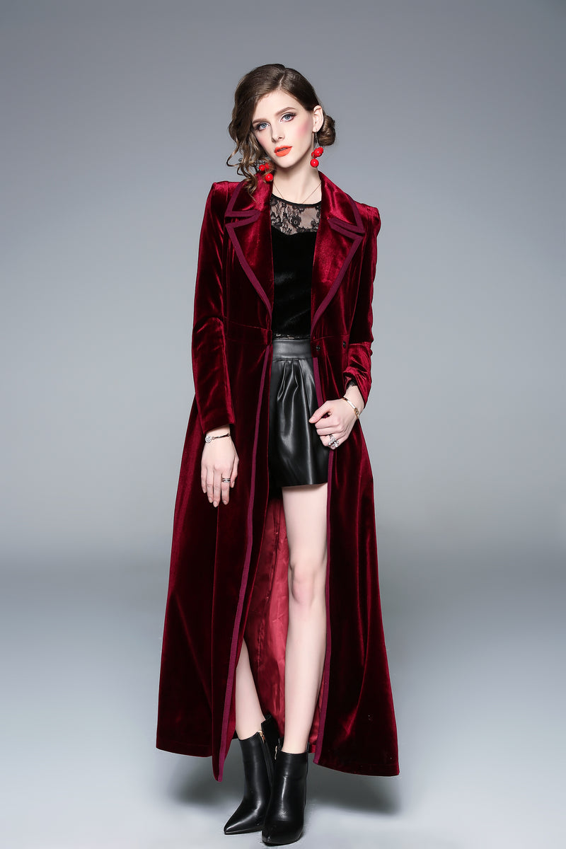 Seline Cover Red Coat
