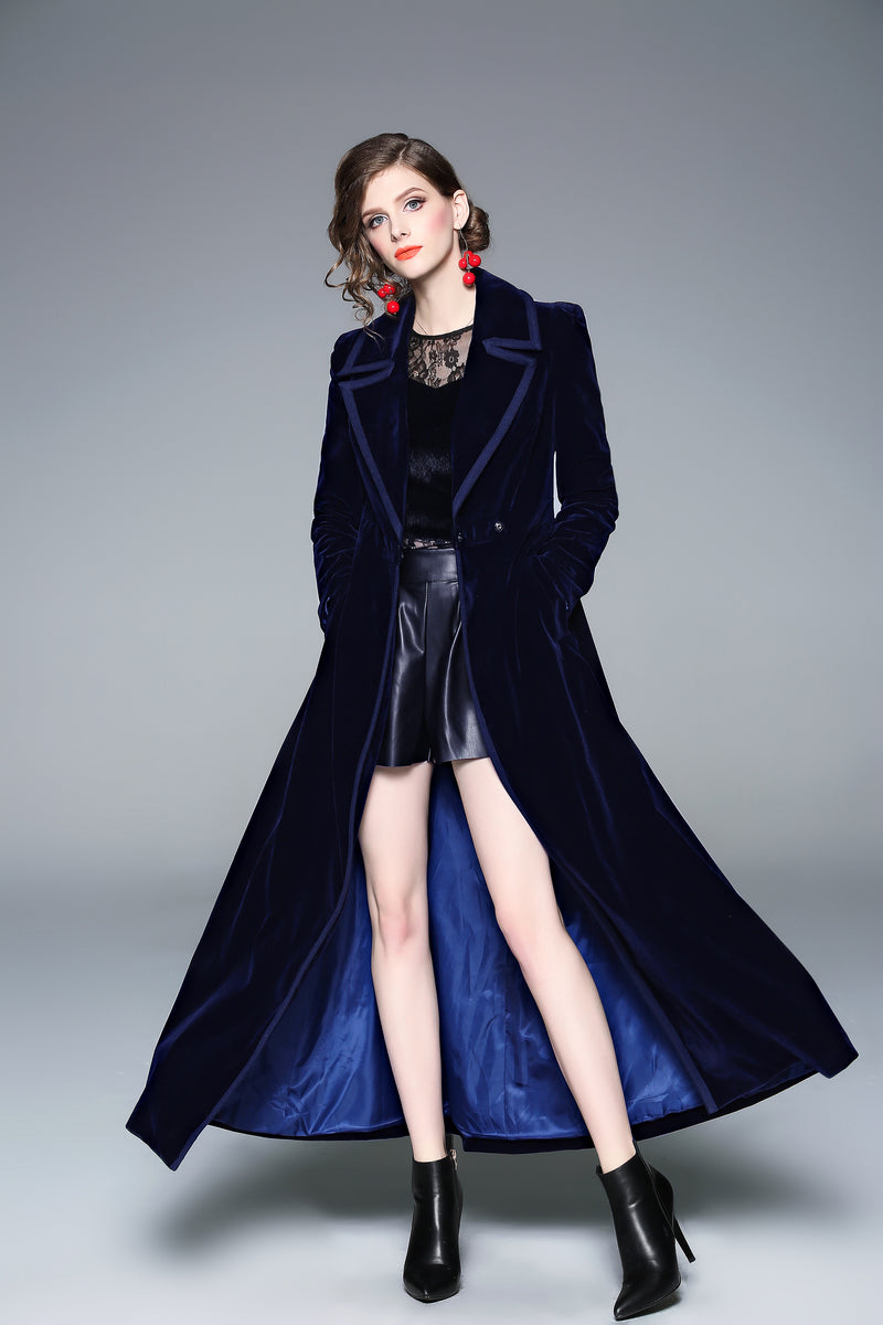 Seline Cover Blue Coat
