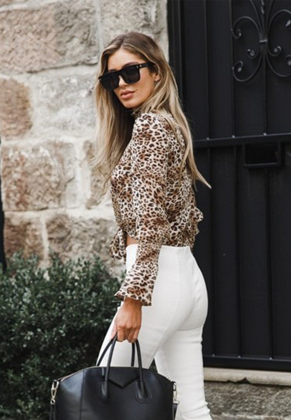 Play Animal Print Blouse