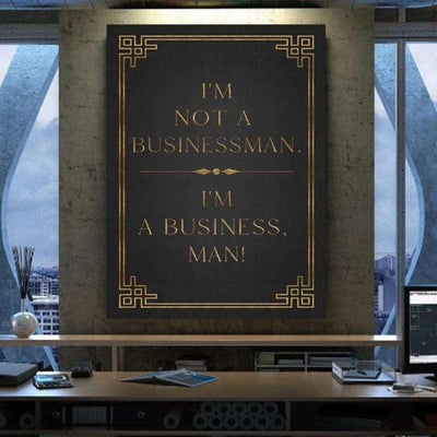 I'M A BUSINESS, MAN! - Hustling Sharks