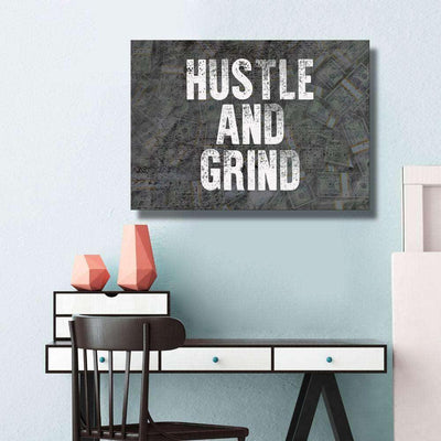HUSTLE AND GRIND - Hustling Sharks