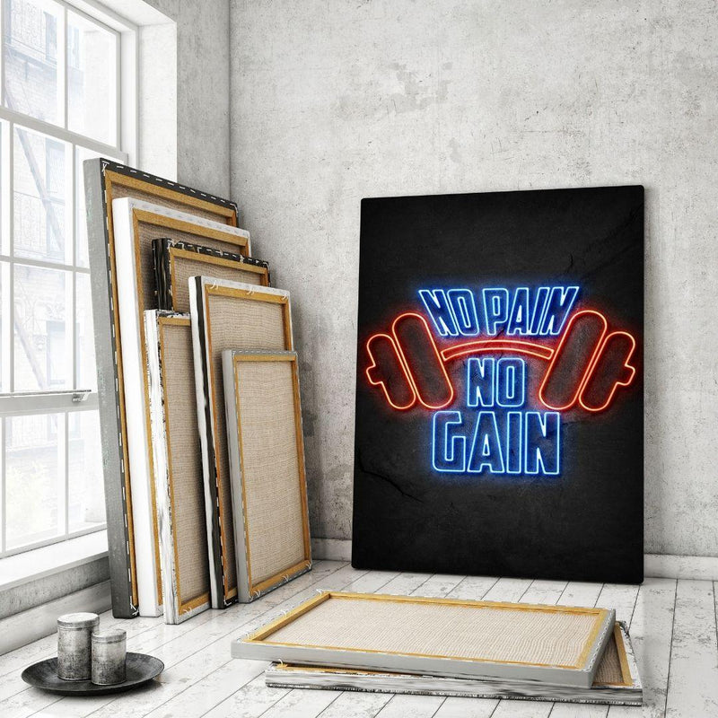 NO PAIN NO GAIN-MockupmitHintergrund1- Hustling Sharks