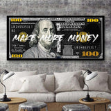 MAKE MORE MONEY - Mockup mit Hintergrund 1 - Hustling Sharks